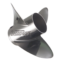 Mercury Tempest Plus 27 cupped Propeller